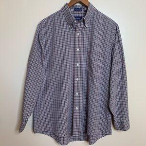3/$20 Gant Blazer Plaid Button Down Shirt Top